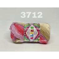 """пряжа alize miss batik 3713 ( ализе мисс батик ) для вязания крючком ажурных изделий, приятна для взрослых и идеальна для детей - купить в украине в интернет-магазине """"пряжа-shop"""" 168 priazha-shop.com 4"""