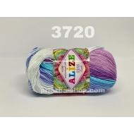 """пряжа alize miss batik 3713 ( ализе мисс батик ) для вязания крючком ажурных изделий, приятна для взрослых и идеальна для детей - купить в украине в интернет-магазине """"пряжа-shop"""" 168 priazha-shop.com 3"""