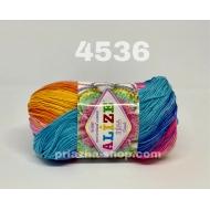 """пряжа alize miss batik 3713 ( ализе мисс батик ) для вязания крючком ажурных изделий, приятна для взрослых и идеальна для детей - купить в украине в интернет-магазине """"пряжа-shop"""" 168 priazha-shop.com 10"""