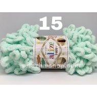 """пряжа alize puffy 13 ( ализе пуффи ) для вязания детских пледов, игрушек, декоративных подушек, шарфиков - купить в украине в интернет-магазине """"пряжа-shop"""" 389 priazha-shop.com 24"""