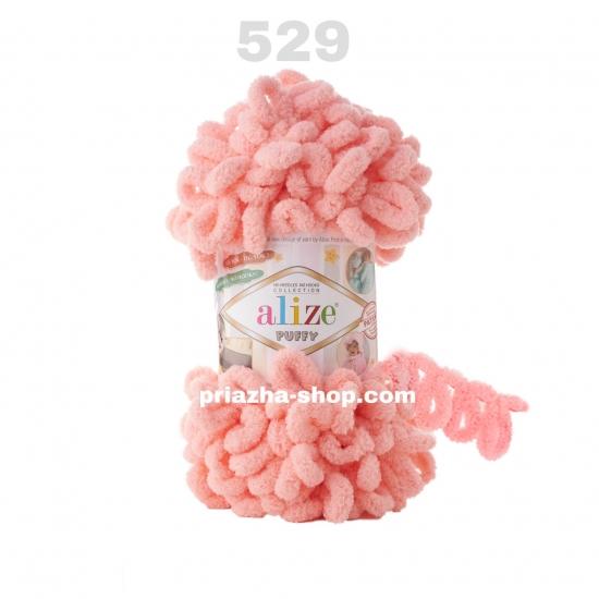 """пряжа alize puffy 529 ( ализе пуффи ) для вязания детских пледов, игрушек, декоративных подушек, шарфиков - купить в украине в интернет-магазине """"пряжа-shop"""" 3388 priazha-shop.com 2"""