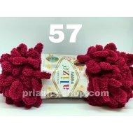"""пряжа alize puffy 111 ( ализе пуффи ) для вязания детских пледов, игрушек, декоративных подушек, шарфиков - купить в украине в интернет-магазине """"пряжа-shop"""" 385 priazha-shop.com 24"""