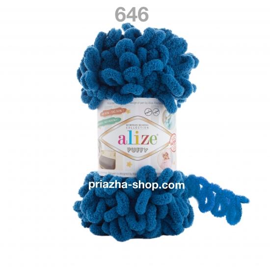 """пряжа alize puffy 646 ( ализе пуффи ) для вязания детских пледов, игрушек, декоративных подушек, шарфиков - купить в украине в интернет-магазине """"пряжа-shop"""" 3556 priazha-shop.com 2"""