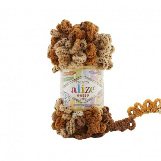 """пряжа alize puffy color 6080 ( ализе пуффи колор ) для вязания детских пледов, игрушек, декоративных подушек, шарфиков и различных аксессуаров красочных расцветок - купить в украине в интернет-магазине """"пряжа-shop"""" 4736 priazha-shop.com 2"""