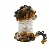 """пряжа alize puffy color 6086 ( ализе пуффи колор ) для вязания детских пледов, игрушек, декоративных подушек, шарфиков и различных аксессуаров красочных расцветок - купить в украине в интернет-магазине """"пряжа-shop"""" 4740 priazha-shop.com 16"""
