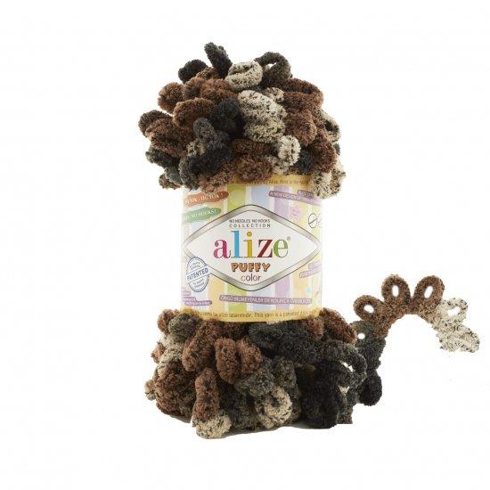"""пряжа alize puffy color 6083 ( ализе пуффи колор ) для вязания детских пледов, игрушек, декоративных подушек, шарфиков и различных аксессуаров красочных расцветок - купить в украине в интернет-магазине """"пряжа-shop"""" 4738 priazha-shop.com 2"""