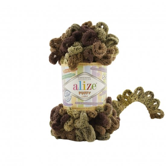 """пряжа alize puffy color 6086 ( ализе пуффи колор ) для вязания детских пледов, игрушек, декоративных подушек, шарфиков и различных аксессуаров красочных расцветок - купить в украине в интернет-магазине """"пряжа-shop"""" 4740 priazha-shop.com 2"""