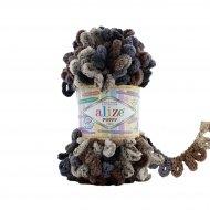 """пряжа alize puffy color 7503 ( ализе пуффи колор ) для вязания детских пледов, игрушек, декоративных подушек, шарфиков и различных аксессуаров красочных расцветок - купить в украине в интернет-магазине """"пряжа-shop"""" 4752 priazha-shop.com 22"""
