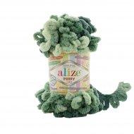 """пряжа alize puffy color 6086 ( ализе пуффи колор ) для вязания детских пледов, игрушек, декоративных подушек, шарфиков и различных аксессуаров красочных расцветок - купить в украине в интернет-магазине """"пряжа-shop"""" 4740 priazha-shop.com 22"""