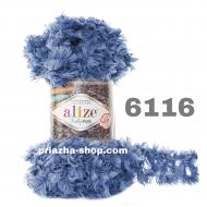 """пряжа alize puffy fur 6114 ( ализе пуффи фур ) для вязания руками меховых шарфиков и накидок различных цветов - купить в украине в интернет-магазине """"пряжа-shop"""" 3176 priazha-shop.com 12"""