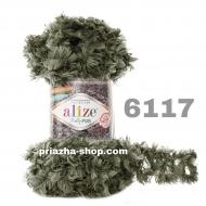 """пряжа alize puffy fur 6114 ( ализе пуффи фур ) для вязания руками меховых шарфиков и накидок различных цветов - купить в украине в интернет-магазине """"пряжа-shop"""" 3176 priazha-shop.com 13"""