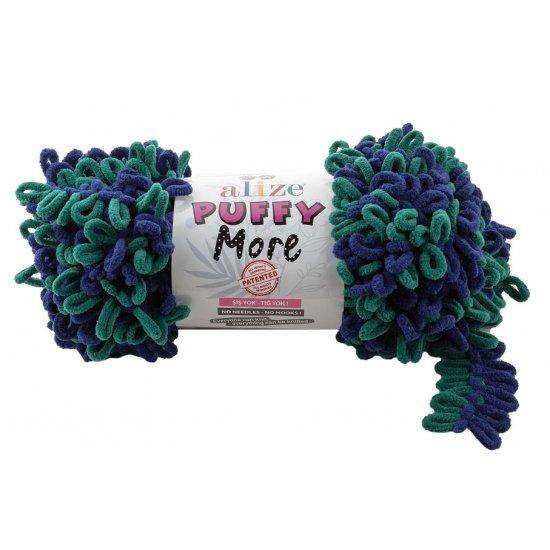 """пряжа alize puffy more 6293 ( ализе пуффи мо ) для вязания руками разнообразных цветов - купить в украине в интернет-магазине """"пряжа-shop"""" 4546 priazha-shop.com 2"""