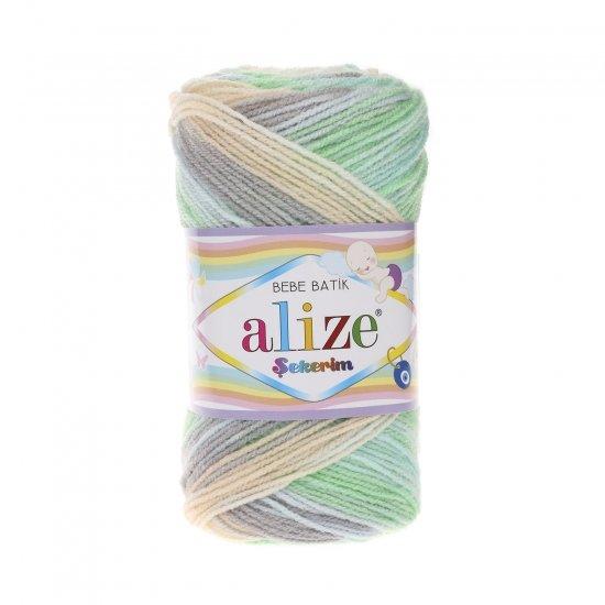 """пряжа alize sekerim batik 6538 ( ализе секерим батик ) для вязания шапок, накидок, пледов, шарфов, кофт, одежды, игрушек и аксессуаров - купить в украине в интернет-магазине """"пряжа-shop"""" 6173 priazha-shop.com 2"""