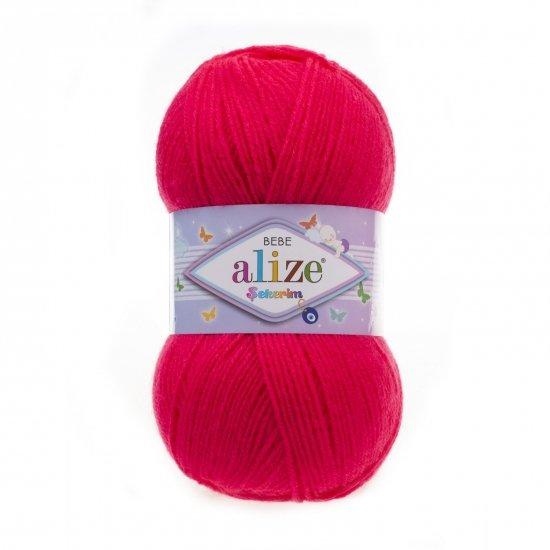"""пряжа alize sekerim bebe 288 ( ализе секерим бебе ) для вязания шапок, накидок, пледов, шарфов, кофт, одежды, игрушек и аксессуаров - купить в украине в интернет-магазине """"пряжа-shop"""" 6222 priazha-shop.com 2"""