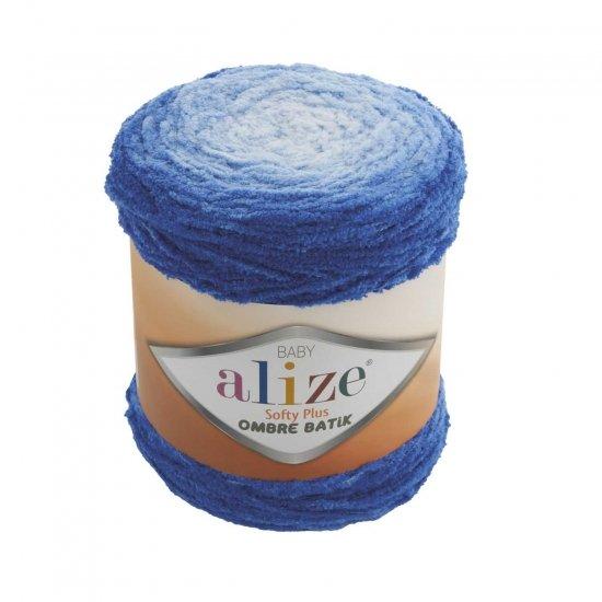 """пряжа alize softy plus ombre batik 7282 ( ализе софти плюс омбре батик ) для вязания детских вещей, пледов, игрушек, декоративных подушек обширной палитры оттенков - купить в украине в интернет-магазине """"пряжа-shop"""" 6127 priazha-shop.com 2"""