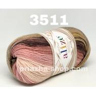 """пряжа alize superlana klasik batik 4276 ( ализе суперлана класик батик ) для вязания свитеров , шапок, тапочек, варежек, шарфов и других осенне-зимних аксессуаров шикарной цветовой гаммы - купить в украине в интернет-магазине """"пряжа-shop"""" 1611 priazha-shop.com 18"""