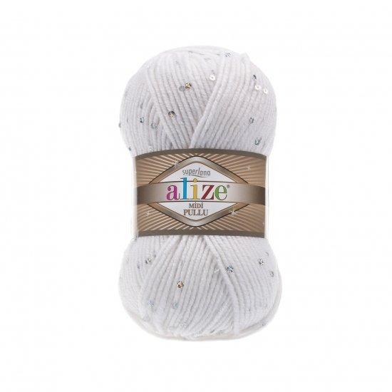 """пряжа alize superlana midi pullu 55 ( ализе суперлана миди пуллу ) для свитеров и жилетов, кардиганов, шапок и шарфов, тапочек, варежек и прочих осенне-зимних аксессуаров - купить в украине в интернет-магазине """"пряжа-shop"""" 6148 priazha-shop.com 2"""