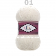 Alize Superwash 01
