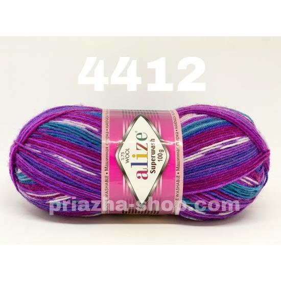 """пряжа alize superwash 4412 ( ализе супервош ) для теплых носков, свитеров, кардиганов - купить в украине в интернет-магазине """"пряжа-shop"""" 1082 priazha-shop.com 2"""
