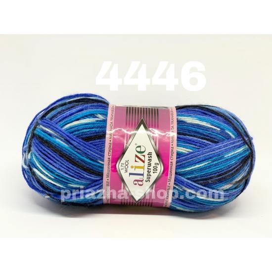 """пряжа alize superwash 4446 ( ализе супервош ) для теплых носков, свитеров, кардиганов - купить в украине в интернет-магазине """"пряжа-shop"""" 983 priazha-shop.com 2"""