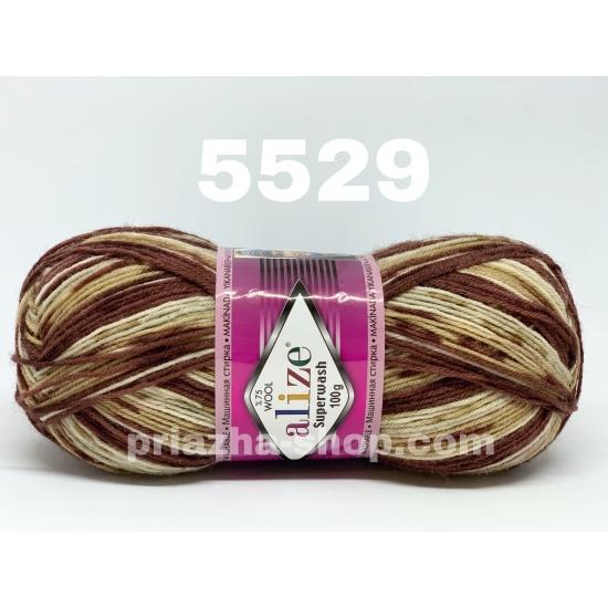 """пряжа alize superwash 5529 ( ализе супервош ) для теплых носков, свитеров, кардиганов - купить в украине в интернет-магазине """"пряжа-shop"""" 957 priazha-shop.com 2"""