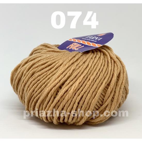 """пряжа bbb full 074 ( ббб фулл ) для вязания шапочек, джемперов, кардиганов, шарфиков, перчаток, различных аксессуаров - купить в украине в интернет-магазине """"пряжа-shop"""" 2439 priazha-shop.com 2"""