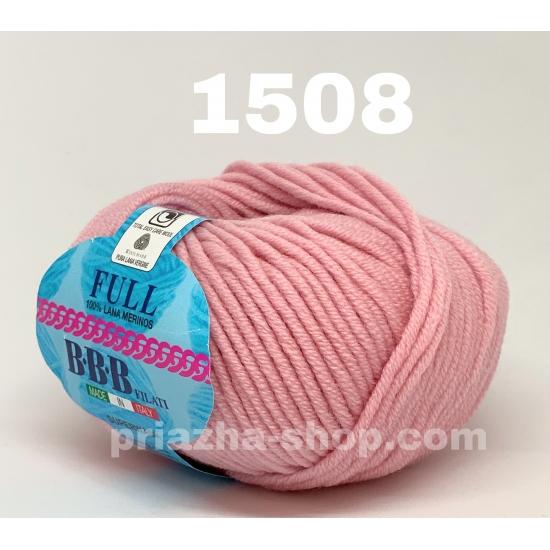 """пряжа bbb full 1508 ( ббб фулл ) для вязания шапочек, джемперов, кардиганов, шарфиков, перчаток, различных аксессуаров - купить в украине в интернет-магазине """"пряжа-shop"""" 2398 priazha-shop.com 2"""