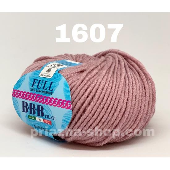 """пряжа bbb full 1607 ( ббб фулл ) для вязания шапочек, джемперов, кардиганов, шарфиков, перчаток, различных аксессуаров - купить в украине в интернет-магазине """"пряжа-shop"""" 2395 priazha-shop.com 2"""