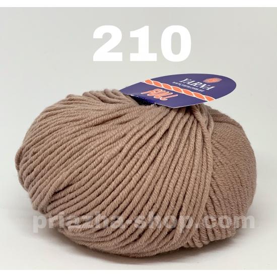 """пряжа bbb full 210 ( ббб фулл ) для вязания шапочек, джемперов, кардиганов, шарфиков, перчаток, различных аксессуаров - купить в украине в интернет-магазине """"пряжа-shop"""" 2409 priazha-shop.com 2"""
