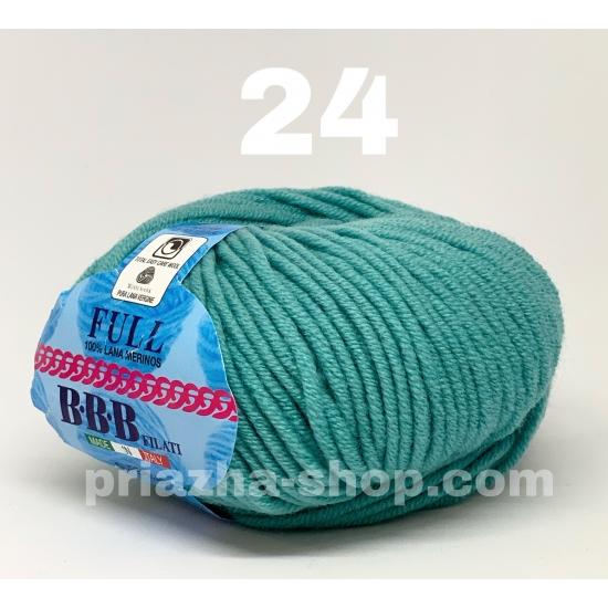 """пряжа bbb full 24 ( ббб фулл ) для вязания шапочек, джемперов, кардиганов, шарфиков, перчаток, различных аксессуаров - купить в украине в интернет-магазине """"пряжа-shop"""" 2431 priazha-shop.com 2"""