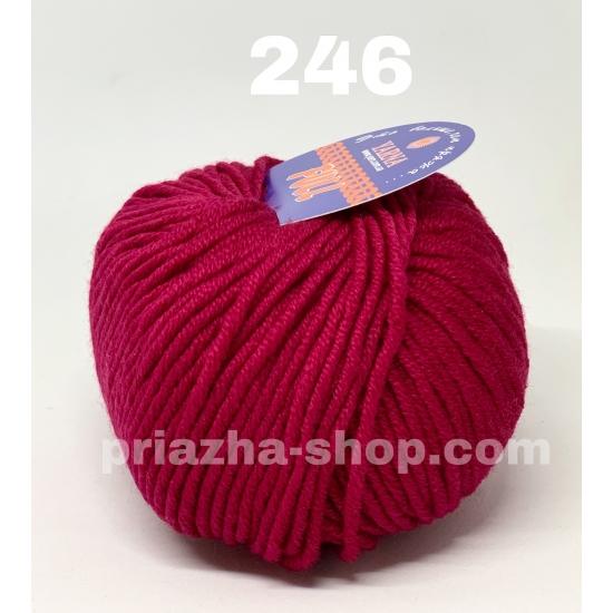"""пряжа bbb full 246 ( ббб фулл ) для вязания шапочек, джемперов, кардиганов, шарфиков, перчаток, различных аксессуаров - купить в украине в интернет-магазине """"пряжа-shop"""" 3419 priazha-shop.com 2"""