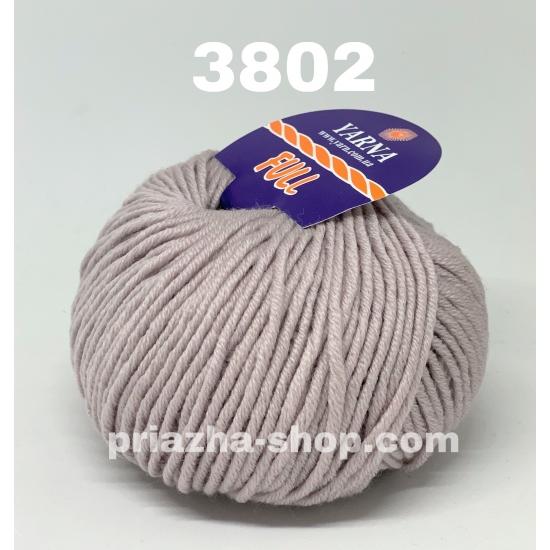 """пряжа bbb full 3802 ( ббб фулл ) для вязания шапочек, джемперов, кардиганов, шарфиков, перчаток, различных аксессуаров - купить в украине в интернет-магазине """"пряжа-shop"""" 3308 priazha-shop.com 2"""