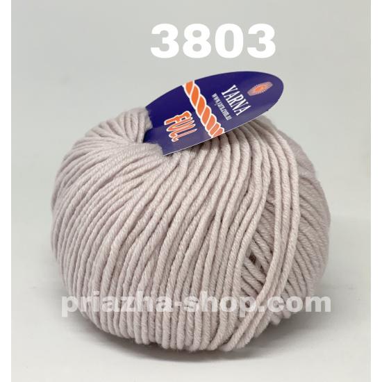 """пряжа bbb full 3803 ( ббб фулл ) для вязания шапочек, джемперов, кардиганов, шарфиков, перчаток, различных аксессуаров - купить в украине в интернет-магазине """"пряжа-shop"""" 3417 priazha-shop.com 2"""