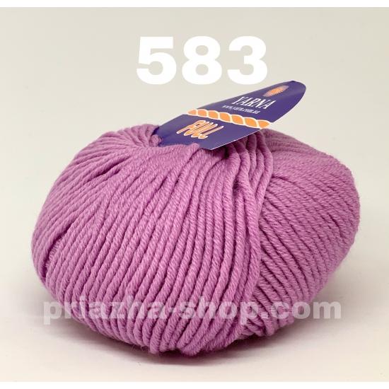 """пряжа bbb full 583 ( ббб фулл ) для вязания шапочек, джемперов, кардиганов, шарфиков, перчаток, различных аксессуаров - купить в украине в интернет-магазине """"пряжа-shop"""" 2425 priazha-shop.com 2"""