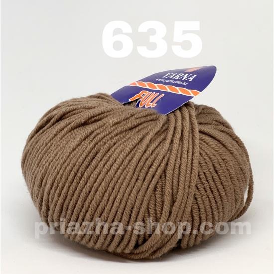 """пряжа bbb full 635 ( ббб фулл ) для вязания шапочек, джемперов, кардиганов, шарфиков, перчаток, различных аксессуаров - купить в украине в интернет-магазине """"пряжа-shop"""" 2441 priazha-shop.com 2"""
