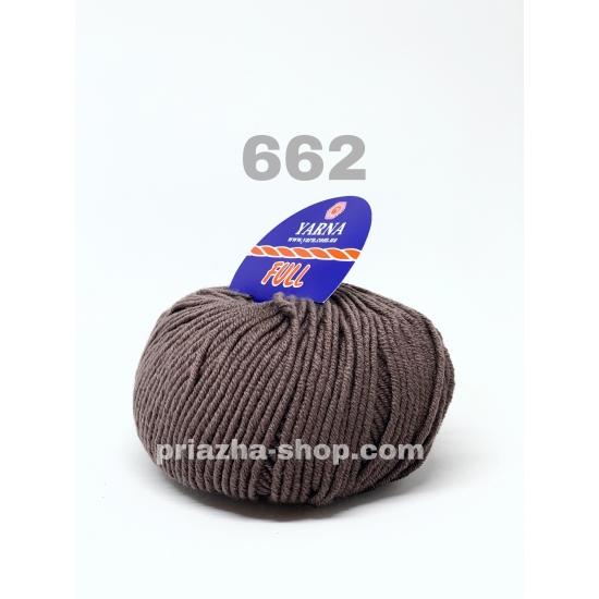 """пряжа bbb full 662 ( ббб фулл ) для вязания шапочек, джемперов, кардиганов, шарфиков, перчаток, различных аксессуаров - купить в украине в интернет-магазине """"пряжа-shop"""" 3246 priazha-shop.com 2"""