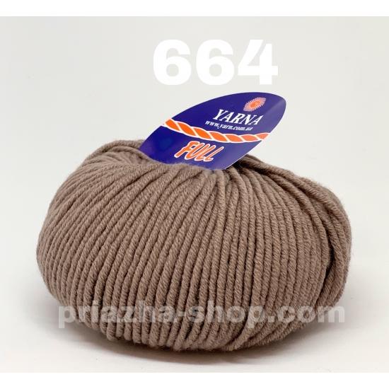 """пряжа bbb full 664 ( ббб фулл ) для вязания шапочек, джемперов, кардиганов, шарфиков, перчаток, различных аксессуаров - купить в украине в интернет-магазине """"пряжа-shop"""" 2416 priazha-shop.com 2"""