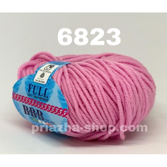 """пряжа bbb full 6823 ( ббб фулл ) для вязания шапочек, джемперов, кардиганов, шарфиков, перчаток, различных аксессуаров - купить в украине в интернет-магазине """"пряжа-shop"""" 2436 priazha-shop.com 2"""