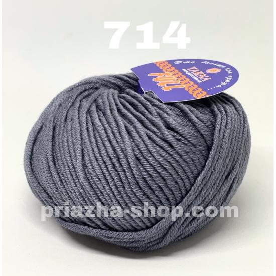 """пряжа bbb full 714 ( ббб фулл ) для вязания шапочек, джемперов, кардиганов, шарфиков, перчаток, различных аксессуаров - купить в украине в интернет-магазине """"пряжа-shop"""" 3420 priazha-shop.com 2"""