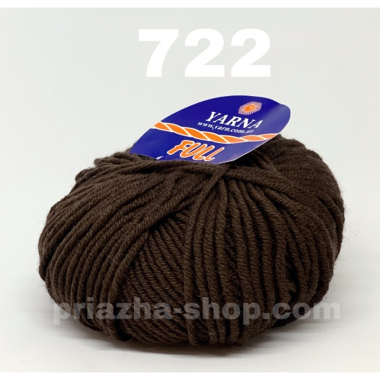 """пряжа bbb full 722 ( ббб фулл ) для вязания шапочек, джемперов, кардиганов, шарфиков, перчаток, различных аксессуаров - купить в украине в интернет-магазине """"пряжа-shop"""" 2442 priazha-shop.com 2"""