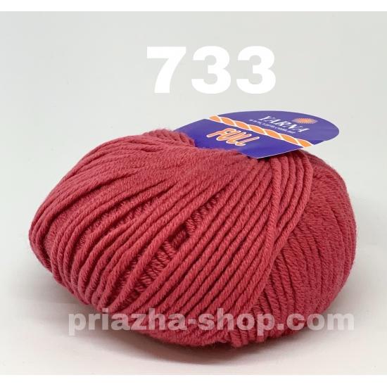 """пряжа bbb full 733 ( ббб фулл ) для вязания шапочек, джемперов, кардиганов, шарфиков, перчаток, различных аксессуаров - купить в украине в интернет-магазине """"пряжа-shop"""" 2432 2"""