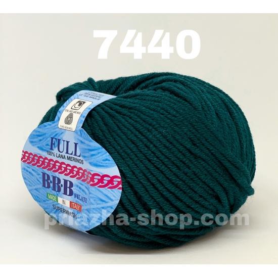 """пряжа bbb full 7440 ( ббб фулл ) для вязания шапочек, джемперов, кардиганов, шарфиков, перчаток, различных аксессуаров - купить в украине в интернет-магазине """"пряжа-shop"""" 2418 priazha-shop.com 2"""