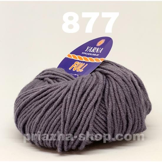 """пряжа bbb full 877 ( ббб фулл ) для вязания шапочек, джемперов, кардиганов, шарфиков, перчаток, различных аксессуаров - купить в украине в интернет-магазине """"пряжа-shop"""" 2444 priazha-shop.com 2"""