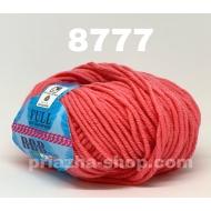 """пряжа bbb full 664 ( ббб фулл ) для вязания шапочек, джемперов, кардиганов, шарфиков, перчаток, различных аксессуаров - купить в украине в интернет-магазине """"пряжа-shop"""" 2416 priazha-shop.com 6"""