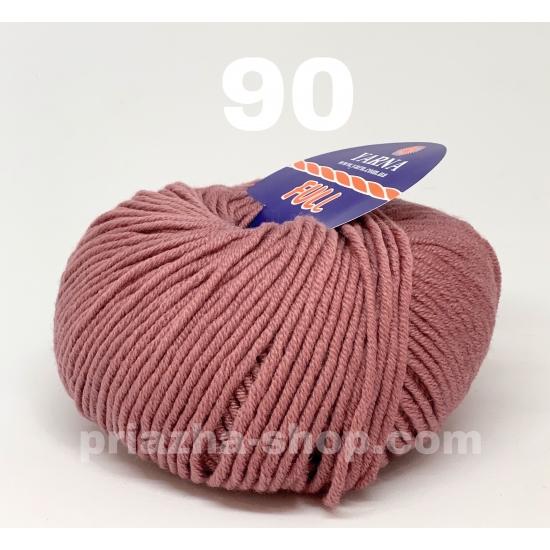 """пряжа bbb full 90 ( ббб фулл ) для вязания шапочек, джемперов, кардиганов, шарфиков, перчаток, различных аксессуаров - купить в украине в интернет-магазине """"пряжа-shop"""" 2415 priazha-shop.com 2"""