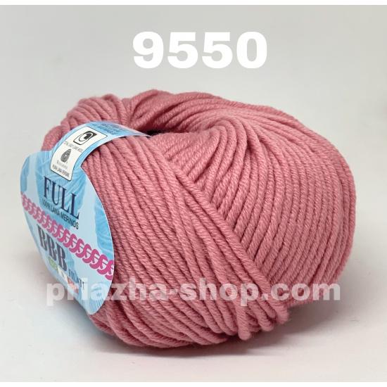 """пряжа bbb full 9550 ( ббб фулл ) для вязания шапочек, джемперов, кардиганов, шарфиков, перчаток, различных аксессуаров - купить в украине в интернет-магазине """"пряжа-shop"""" 3435 priazha-shop.com 2"""