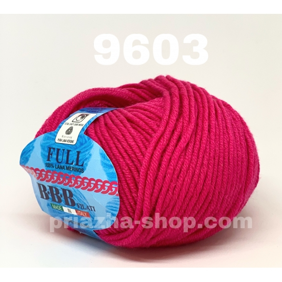 """пряжа bbb full 9603 ( ббб фулл ) для вязания шапочек, джемперов, кардиганов, шарфиков, перчаток, различных аксессуаров - купить в украине в интернет-магазине """"пряжа-shop"""" 2419 priazha-shop.com 2"""