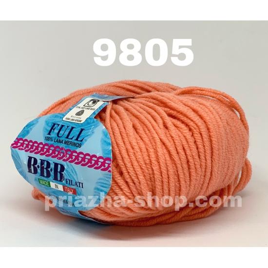 """пряжа bbb full 9805 ( ббб фулл ) для вязания шапочек, джемперов, кардиганов, шарфиков, перчаток, различных аксессуаров - купить в украине в интернет-магазине """"пряжа-shop"""" 2428 priazha-shop.com 2"""