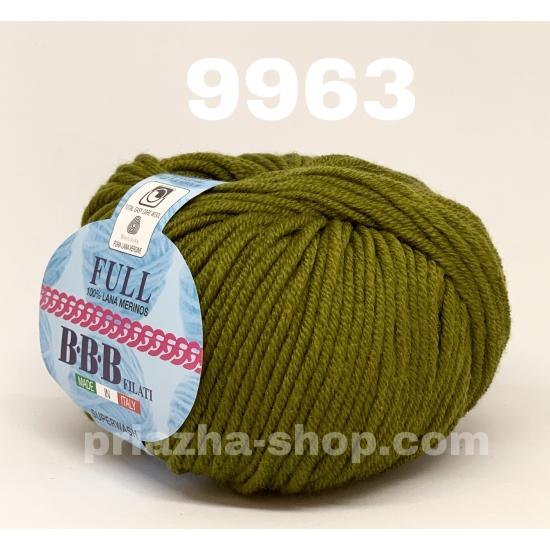 """пряжа bbb full 9963 ( ббб фулл ) для вязания шапочек, джемперов, кардиганов, шарфиков, перчаток, различных аксессуаров - купить в украине в интернет-магазине """"пряжа-shop"""" 2420 priazha-shop.com 2"""