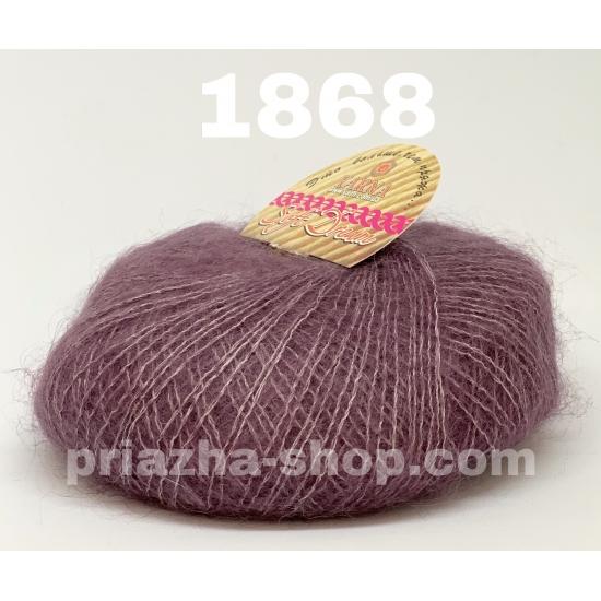 """пряжа bbb soft dream 1868 ( ббб софт дрим ) для вязания шалей, палантинов, платков, накидок, тонких ажурных пуловеров - купить в украине в интернет-магазине """"пряжа-shop"""" 2464 priazha-shop.com 2"""